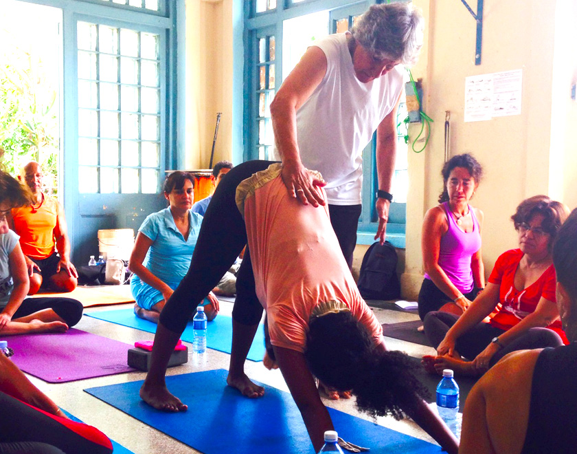 Yoga in cuba and yoga teacher training